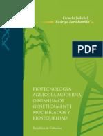 Agro-Bio Módulo de Jueces_Biotecnologia Agricola Moderna OGM y Bioseguridad