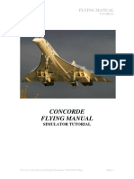 Concorde - Manual Tutorial Flight Simulator