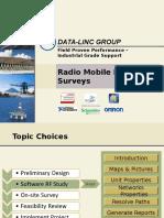 Training x8 - Radio Mobile Software RF Surveys