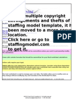Staffing Model Template 1 (1)