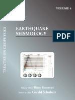 Earthquake Seismology - Hiroo Kanamori - Elsevier (2009)