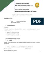 Esquema Del Proyecto Gonzales Alvarado