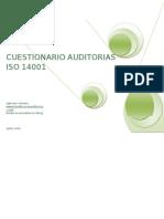 Check List Cuestionario Auditoria ISO 14001-1