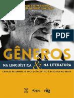 E-book Gêneros na linguística e na literatura