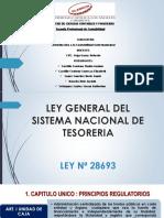 Exposicion Guber Ley de Tesoreria Grupo 3