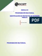 Programacion Multianual e Identificacion