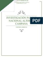 Investigación Parque Nacional Altos de Campana FINAL