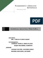 Maderera Fenix SA - Planeamiento y Direccion Estrategica - 3er Avance