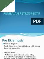 PENILAIAN RETROSPEKTIF