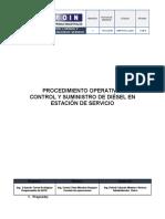 Proc. Op. Despacho de Diesel