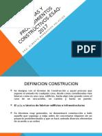 Procesos y Sistemas Constructivos