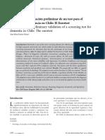 Revista Chilena Neuro Psiquiatria v45 n4