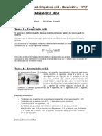 AOnº4 Matematica I