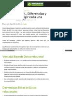 Blog Pandorafms Org Es Nosql vs SQL Diferencias y Cuando Ele