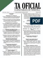 41101REGLAMENTO DEL DECRETO CON RANGO, VALOR y Fuerza de La Ley Del Estatuto de La Funcion Policial Sobre El Regimem Disciplinario.