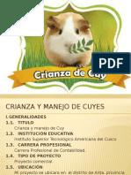 Proyecto Crianza y Manejo de Cuyes