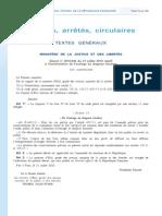 """Le décret instituant un """"outrage au drapeau"""""""