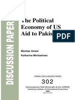 the political economy of US aid in Pakistan