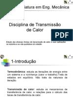 Transmissão de Calor - Licenciatura em Engenharia Mecânica (PT)