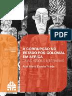 A Corrupção Da Africa Pos Colonial