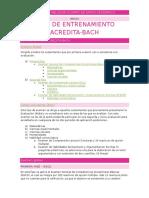 2 - Plan de Entrenamiento Acredita-Bach