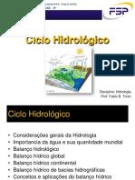 Slides Hidrologia