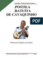 Apostila Cavaco2 Iniciante