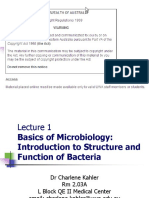 Basics of Microbiology