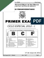 BASICO 1° EXAMEN -2012-I AREA BCF imprimir