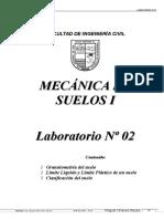 @Suelos I - Laboratorio 02