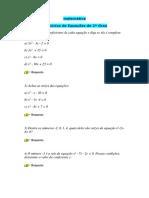 Aulas Matemática ensino fundamental e médio