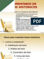 Comentario de Textos Históricos