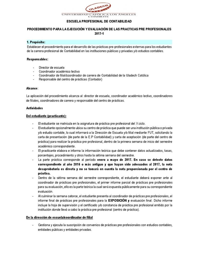 Atractivo Ejemplos De Plan De Estudios De Contabilidad Profesional ...