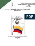 Programacion de Constitucion Sedes Rurales