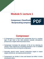 Module 5 Lecture 1