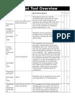 theatresports challenge assessment plan