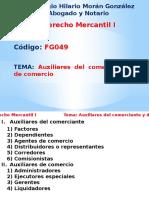 Tema 9 Auxiliares Del Comerciante y de Comercio.