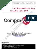 Guía para el uso de Compranet Licitantes