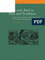 John Byron Cain and Abel in Text and Tradition Jewish and Christian Interpretations of the First Sibling Rivalry.pdf
