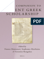Franco Montanari, Stefanos Matthaios, Antonios Rengakos Brills Companion to Ancient Greek Scholarship.pdf