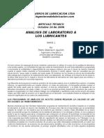 Analisis de Ac Lub - Articulo