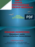 Bab 3 Usaha Perjuangan Mempertahankan Kemerdekaan Indonesia