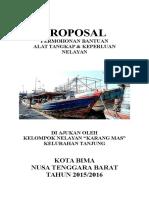 Proposal Permintaan Bantuan Alat Nelayan