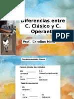 Diferencias Entre Clc3a1sico y Operante