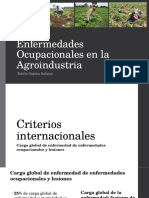 4. Enfermedades Ocupacionales en La Agroindustria Dra Ospina