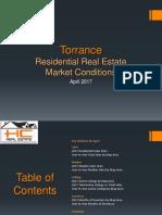 Torrance Real Estate Market Conditions - April 2017