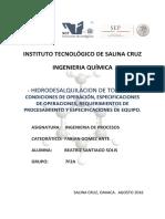 Investigacion Hidrodesalquilacion de Tolueno (1)