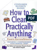 How to clean practically anything