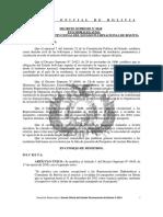 DS 0618 (reval los pasaportes) Mod el Art 1 del DS N° 0449, de 17 de marzo de 2010,