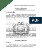 DS 0759  31-dic-2010 Abroga los Decretos Supremos Nº 0748, N° 0749, N° 0750 y N° 0751, de 26 de diciembre de 2010, y el Decreto Supremo Nº 0758